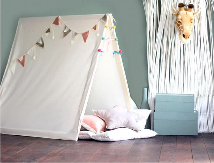 Amado Como fazer uma tenda de brincar? - Casa de Colorir WA97
